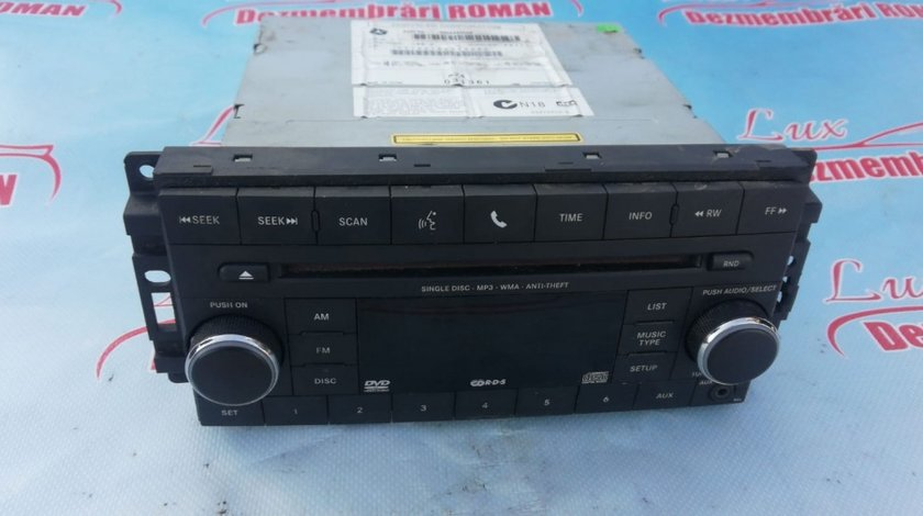 Casetofon radio cd mp3 player Jeep Compass 1 facelift motor 2.2crd cdi 100kw 136cp om651 2011