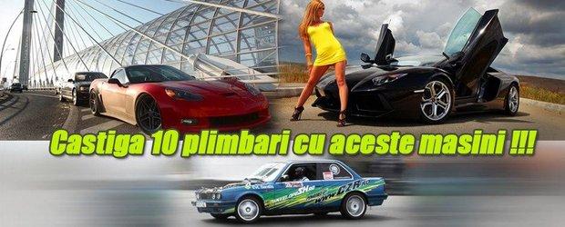 Castiga o plimbare cu Lamborghini Aventador!