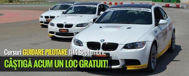 Castiga un curs de pilotaj cu BMW M3 sau 1M Coupe oferit de Guidare Pilotare!
