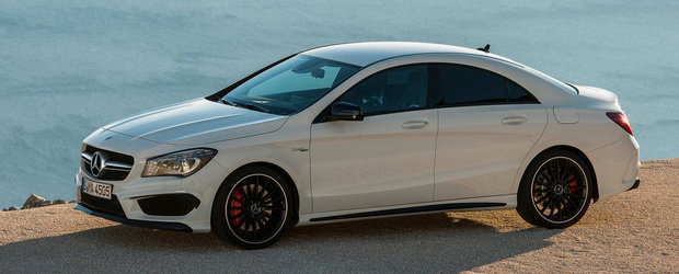 Cat costa in Romania noul Mercedes CLA45 AMG