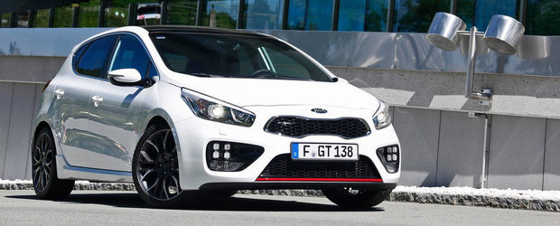 Cat costa noua Kia Cee'd GT in Romania
