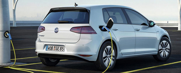 Cat costa noul hatchback electric Volkswagen e-Golf