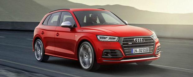 Cat costa SUV-ul de 354 de cai al nemtilor de la Audi