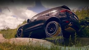 Cat de capabil este in off-road noul Porsche Cayenne Turbo S