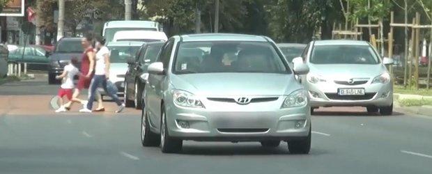 Cat de haotic este traficul din Bucuresti, ne arata Politia Rutiera