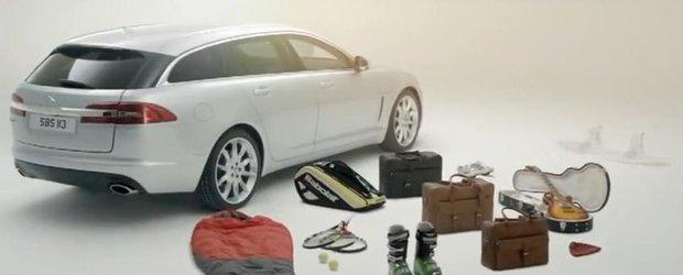 Cat de modular poate fi noul Jaguar XF Sportbrake?
