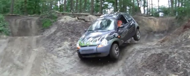 Cat de multe poate sa indure un Ford Ka pe traseu de off-road?
