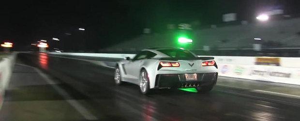 Cat de rapid e noul Corvette Z06 pe sfertul de mila?