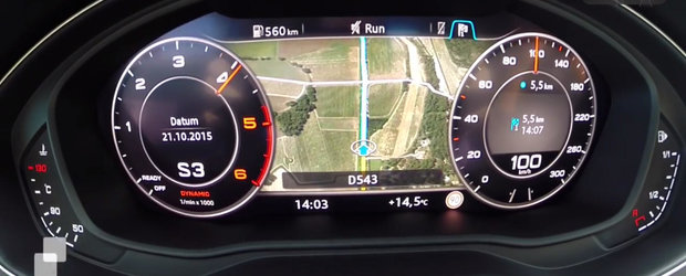 Cat de repede accelereaza pana la suta noul Audi A4 3.0 TDI?
