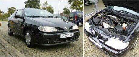 Cat de tare e asta? Un Renault vechi de doua decenii se vinde cu doar 128 de kilometri la bord