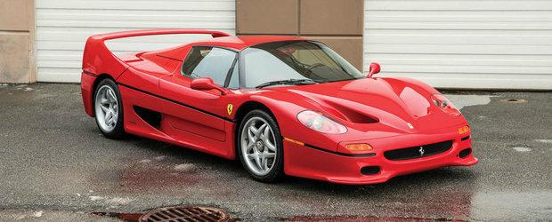 Cat mai costa in ziua de azi un Ferrari cu motor inspirat din Formula 1