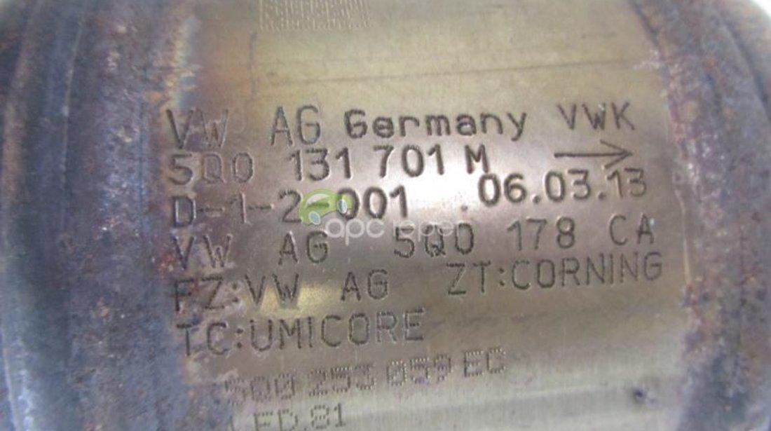 Catalizator Audi A3 8V Golf VII Original 5Q0131701M