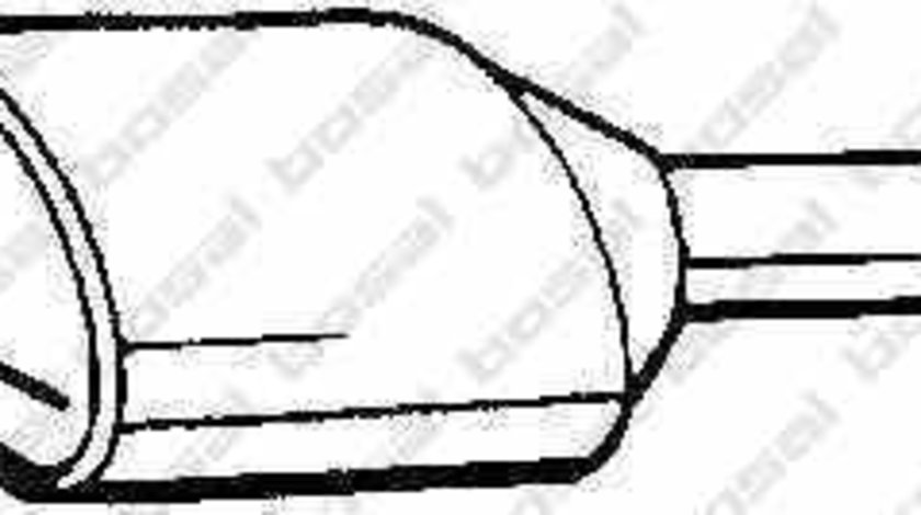 Catalizator AUDI A4 (8D2, B5) BOSAL 099-050