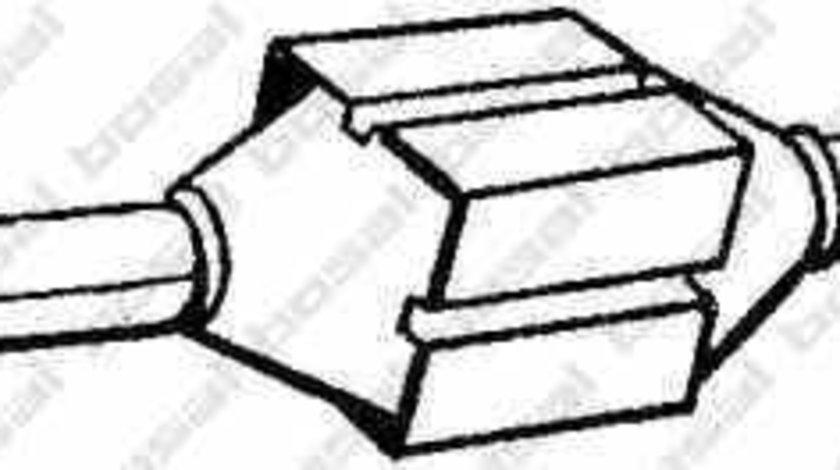 Catalizator CITROËN JUMPER platou / sasiu 244 BOSAL 099-714