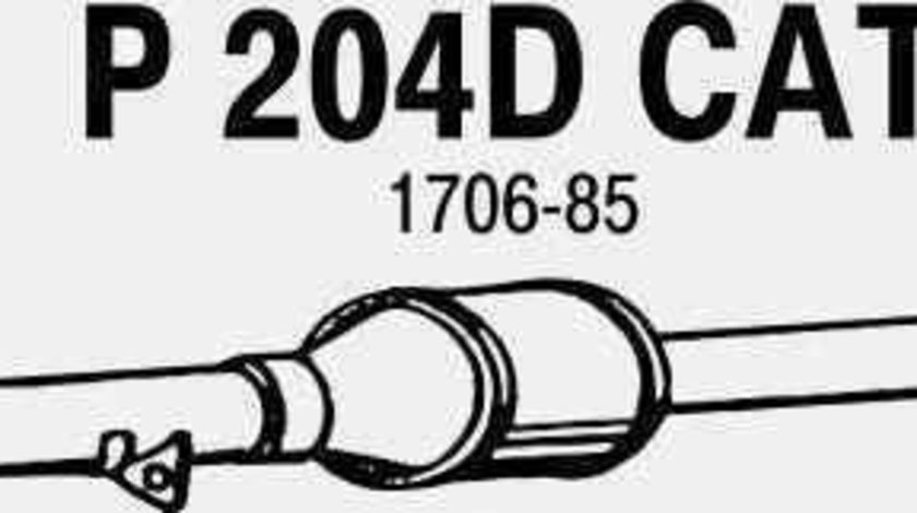Catalizator CITROËN JUMPER platou / sasiu 244 JMJ JMJ1080285