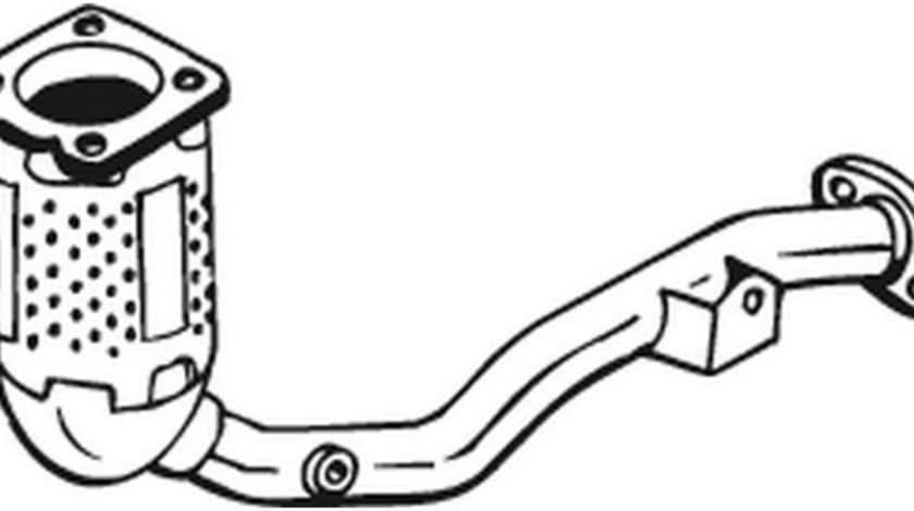 Catalizator CITROEN C3 I (FC) (2002 - 2016) BOSAL 099-567 piesa NOUA