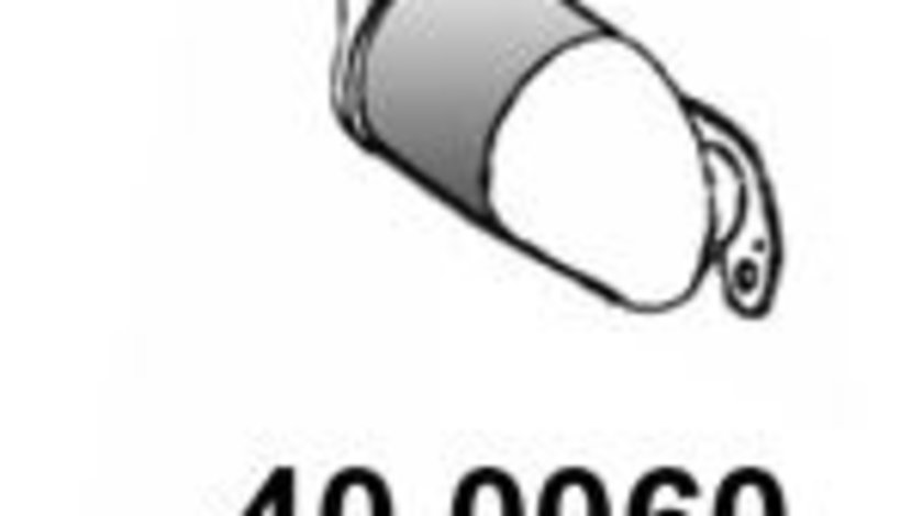 Catalizator RENAULT CLIO II (BB0/1/2, CB0/1/2) (1998 - 2005) ASSO 40.0060 piesa NOUA
