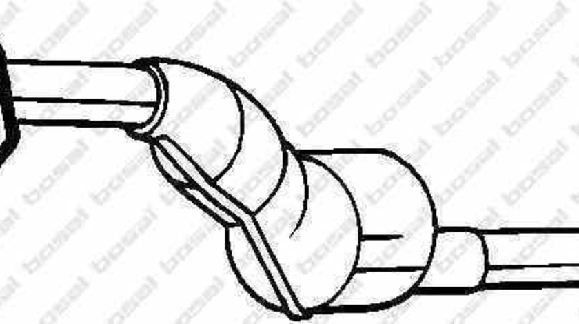 Catalizator RENAULT CLIO III BR0/1 CR0/1 BOSAL 090-144