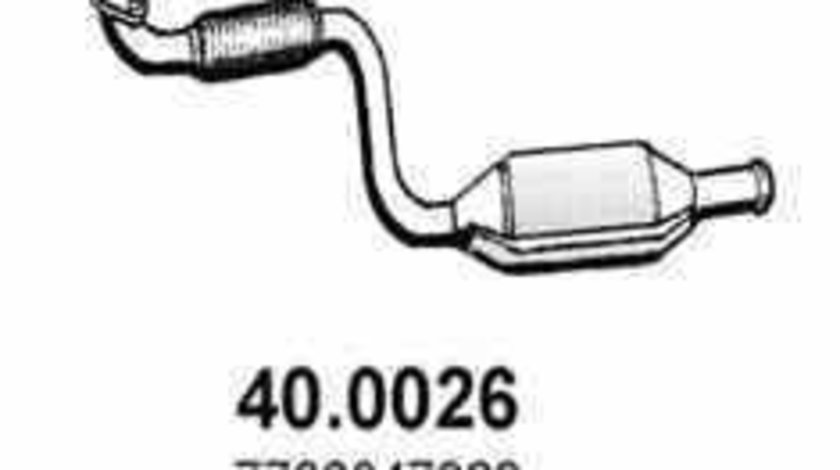 Catalizator RENAULT KANGOO KC0/1 JMJ JMJ1090002