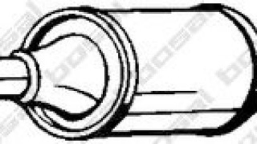 Catalizator VW GOLF V (1K1) (2003 - 2009) BOSAL 090-146 piesa NOUA