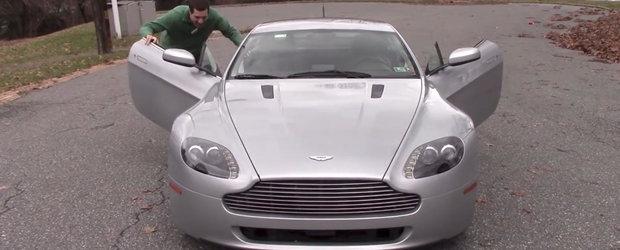 Cateva detalii care transforma Aston-ul V8 Vantage intr-o masina... cu adevarat unica