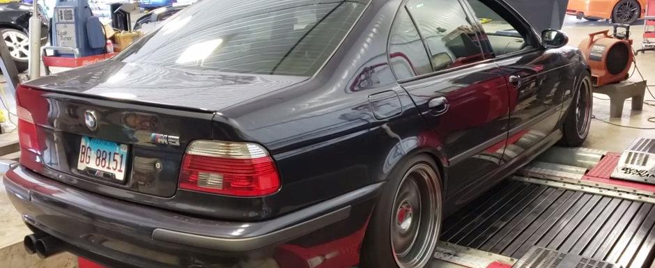 Cati CAI mai are astazi un BMW M5 cu 658.000 de kilometri la bord? VIDEO cu cel mai tare experiment de pe internet