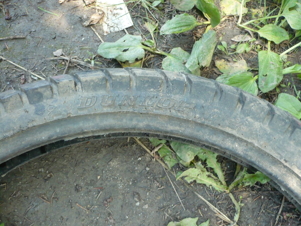 Cauciuc,Cauciucuri Dunlop 90 90 21 M/C