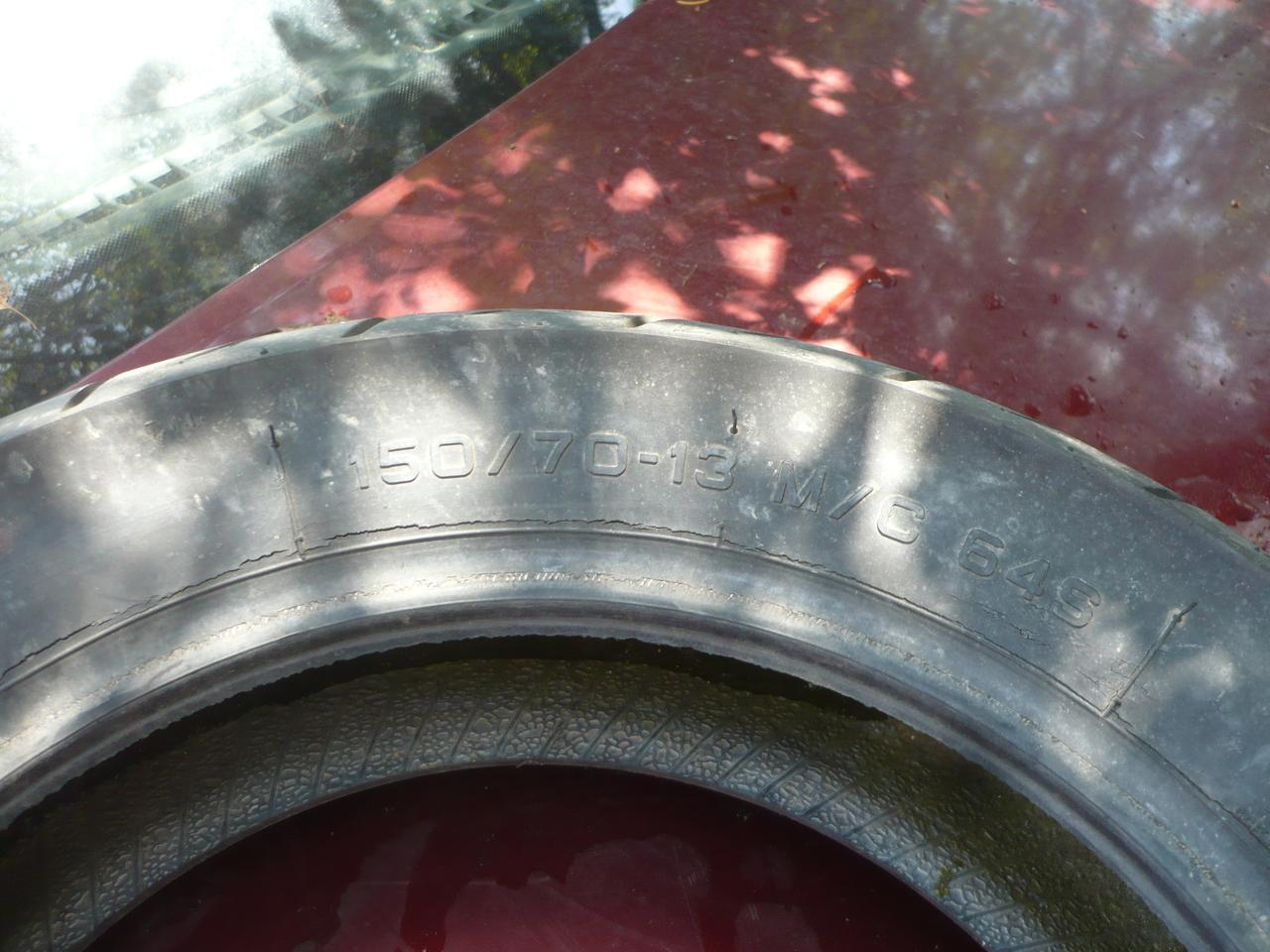 Cauciuc,Cauciucuri Pirelli diablo scroller 150 60 13 M/C