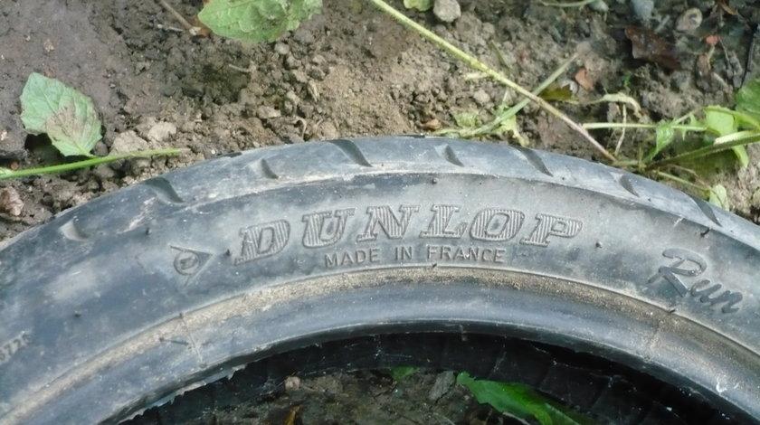 Cauciuc Fata Dunlop si Pirelli 120 70 14