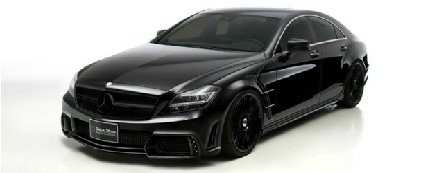 Cavalerul Negru: Mercedes CLS by Wald International