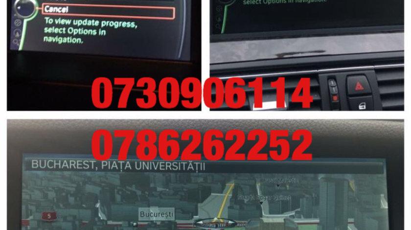 CD DVD harti navigatie BMW Seria 1 3 5 6 7 X3 X5 X6 ROMANIA 2018