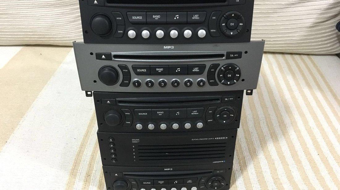 CD , MP3 player Citroen - Peugeot. Citroen C5, c4. Peugeot. 307, 207, 308.