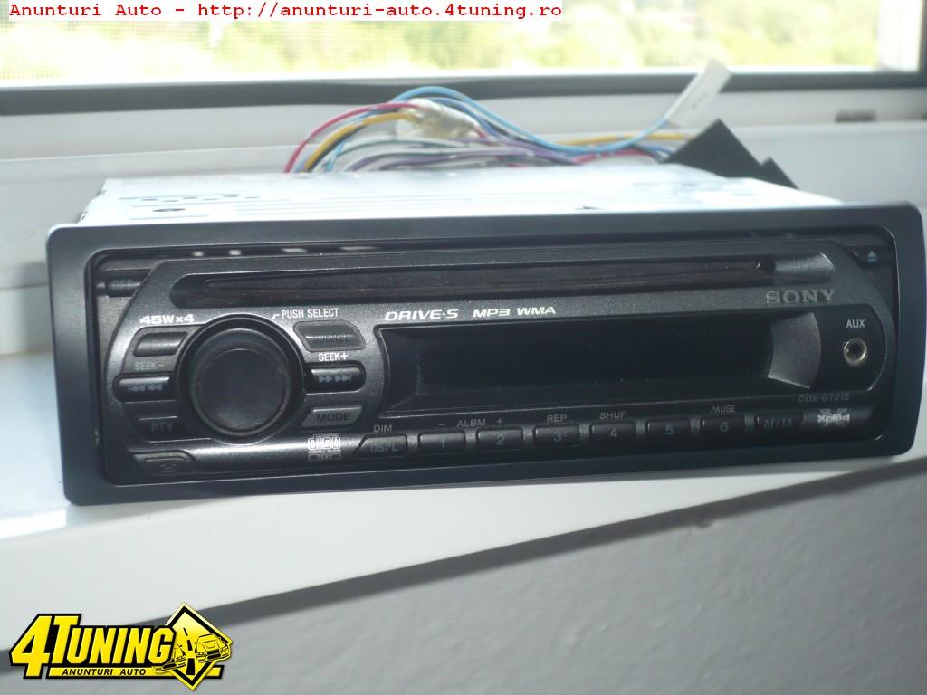 cd player auto sony xplod cdx gt 212 90762