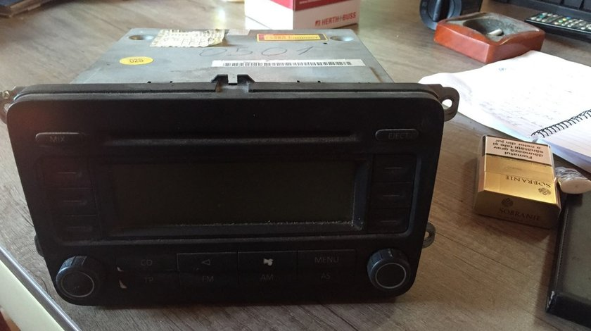 cd player auto vw golf 5 rcd 300 2007