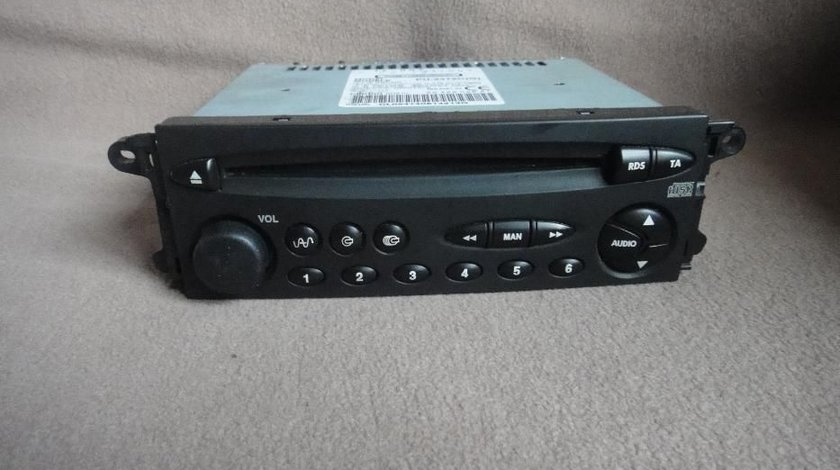 Cd player casetofon citroen xara c5 PU2472C