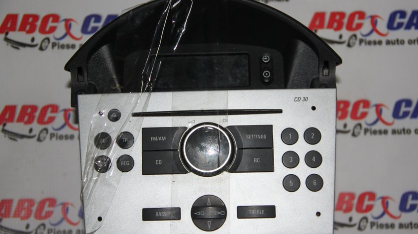 CD Player cu afisaj decodat Opel Meriva cod: 13190855 / 453116246 / 13208191 / 317099190 model 2007
