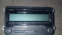 Cd-player cu mp3 1k0035186aa vw golf 5 golf 6 2003...