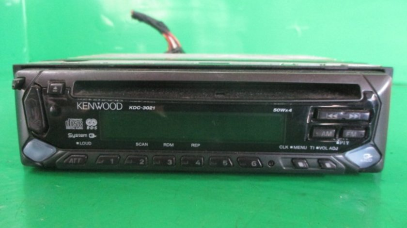 CD PLAYER KENWOOD KDC-3021 RENAULT LAGUNA 2 FAB. 2001 - 2007 ⭐⭐⭐⭐⭐