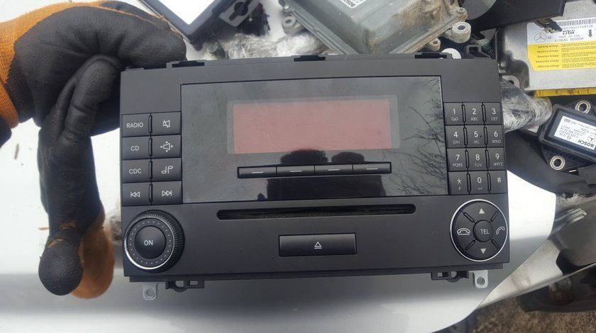 CD player Mercedes A-class B class W169 W245 , cod: A 169 820 47 89