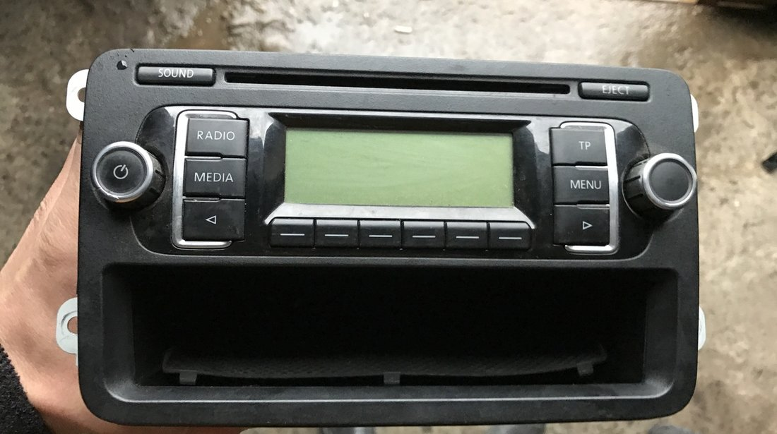 Cd Player MP3 Vw Golf 6 2009 2010 2011 2012