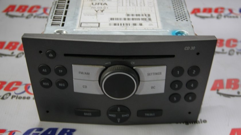 CD-Player Opel Astra H cod: 453116246 / 13190856 model 2006