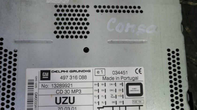 CD player Opel Corsa D