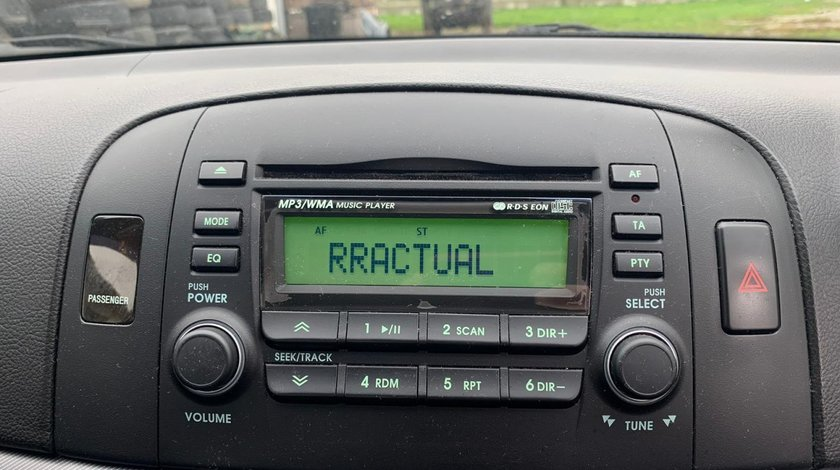CD Player Original Hyundai Sonata 2007