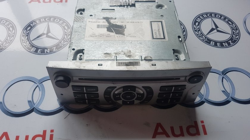 Cd player peugeot 407