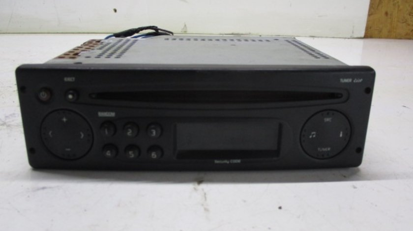 CD PLAYER / RADIO COD 8200403537 RENAULT