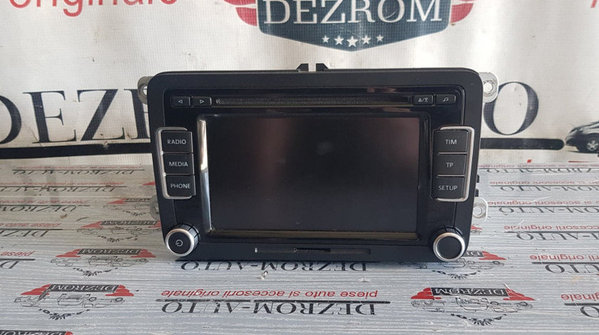 CD-Player RCD 510 VW Golf 5 Plus cod 3C8035195