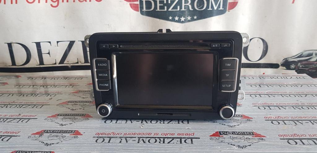 CD-Player RCD 510 VW Golf 6 Plus cod 3C8035195