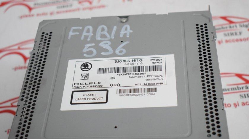 CD player Skoda Fabia 2 5J0035161G 536