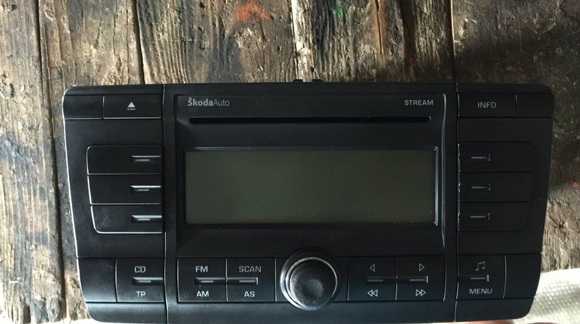 Cd Player Skoda Octavia 2 2005 2006 2007 2008