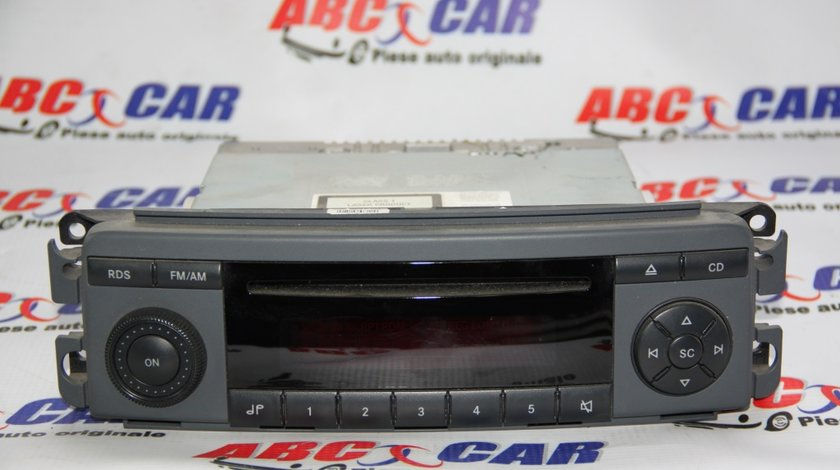 CD Player Smart ForFour cod: A4548200379 model 2005